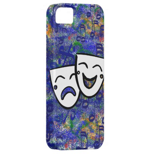 Drama: Un chapoteo musical iPhone 5 Case-Mate Cobertura