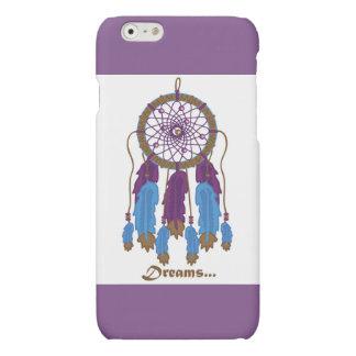 Dreamcatcher con la caja púrpura del iPhone 6 del