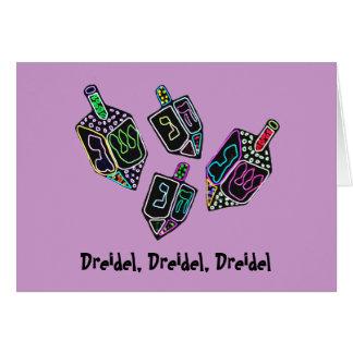 Dreidel, Dreidel, tarjetas de Dreidel