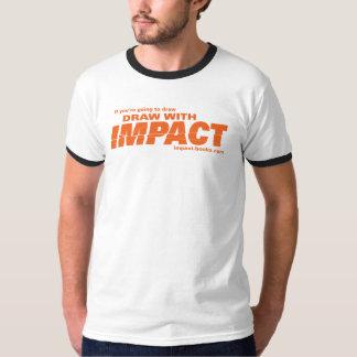 Drenaje con la camiseta-luz para hombre del camiseta