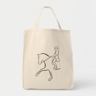 Dressage Horse Bolso De Tela