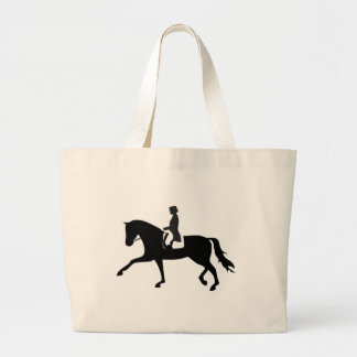 Dressage Horse Bolso De Tela Gigante