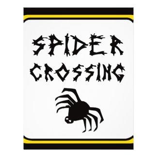 Drk de la travesía de la araña folleto 21,6 x 28 cm