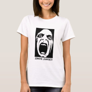¡Drogadictos del zombi! El tanque de los Camiseta