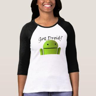 ¿Droid conseguido? Camisetas