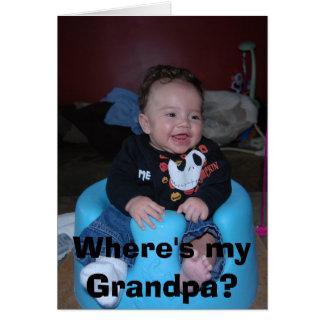 ¿DSC_0081, donde es mi abuelo? Tarjetas