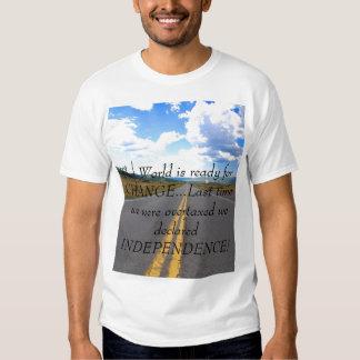 DSC_0098, el mundo está listo para el CAMBIO… Camisetas