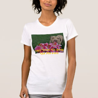 DSC_0699, tardan tiempo para oler las flores Camiseta