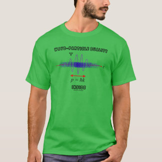 Dualidad de la Onda-Partícula dentro del principio Camiseta