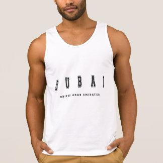Dubai United Arab Emirates Camiseta De Tirantes
