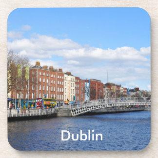 Dublín. Irlanda Posavasos