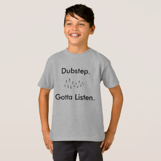Dubstep embroma la camisa divertida de Aparrel de