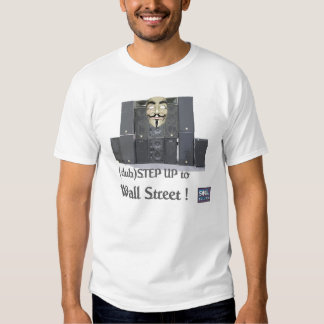 dubSTEP hasta WALLSTREET Camiseta