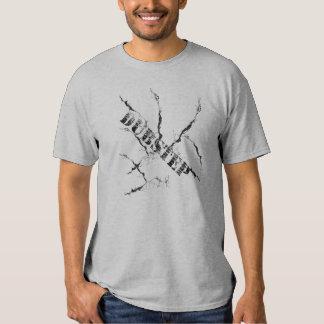Dubstep - pinte la salpicadura camiseta