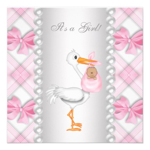 Invitaciones de Baby shower de cigüeña con niño - Imagui