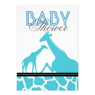Ducha animal del bebé del safari