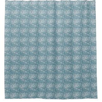 Ducha azul Curtin de la vid
