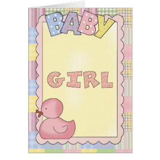 Ducha de las tarjetas del bebé, Congrats, nueva