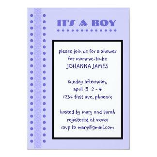 ducha del bebé invitación 11,4 x 15,8 cm