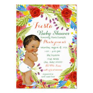 Ducha mexicana del bebé de la fiesta invitación 11,4 x 15,8 cm