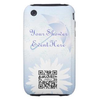 ducha nupcial de la plantilla del caso del iPhone iPhone 3 Tough Coberturas
