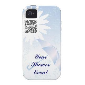 ducha nupcial de la plantilla del caso del iPhone  iPhone 4 Fundas