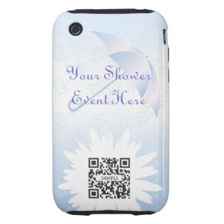 ducha nupcial de la plantilla del caso del iPhone iPhone 3 Tough Carcasas