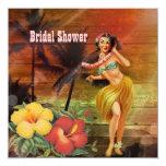 ducha nupcial de la playa de Hawaii del chica de Anuncios Personalizados