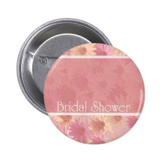 ducha nupcial del ~ rosado de las tarimas pins