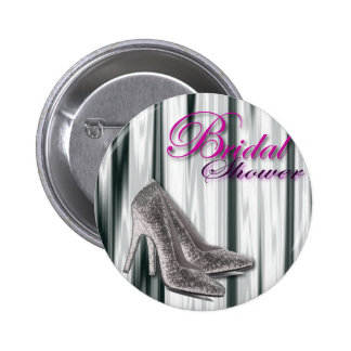 Ducha nupcial moderna de plata de Stilleto Pin