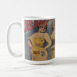 Ducha nupcial personalizada con nombres en señoras taza de café