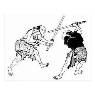 Duelers de Hokusai Postal