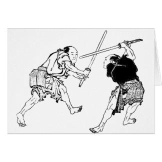 Duelers de Hokusai Tarjeta