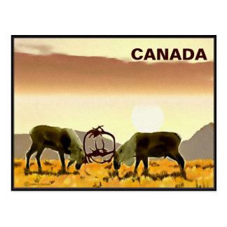 Duelo del caribú - Canadá Postal