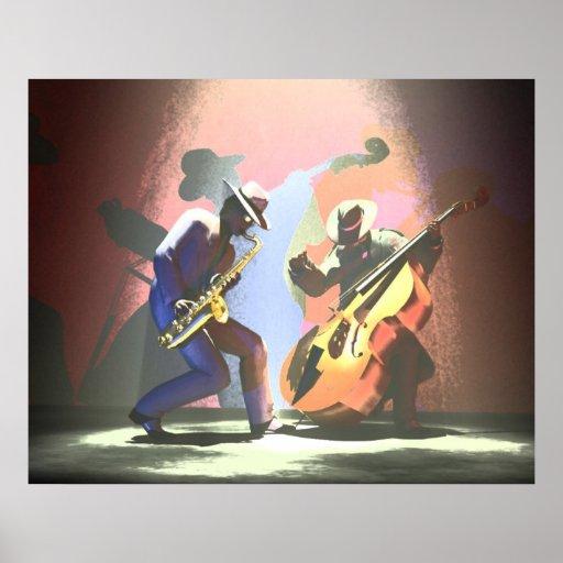 Duelo del jazz posters