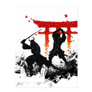 Duelo del samurai postal