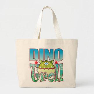 Duende de Dino Bolsa Tela Grande