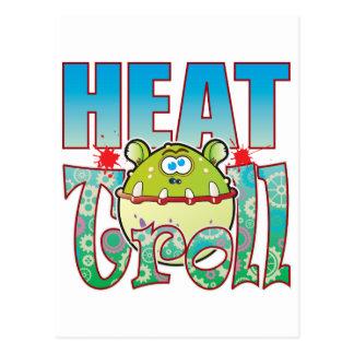 Duende del calor postal