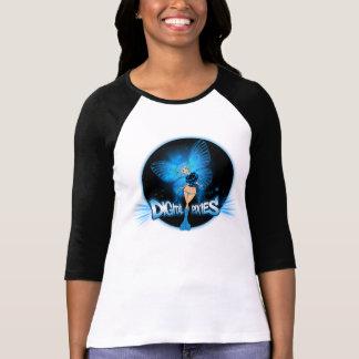 Duendecillo azul de los duendecillos de Digitaces Camisetas