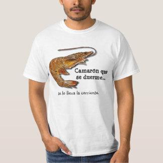 Duerme del SE del que de Camarón. Camiseta