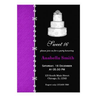 Dulce 16 invitación personalizada