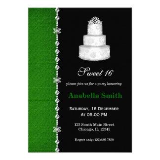 Dulce 16 invitaciones personalizada