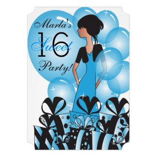 """Dulce """"16"""" invitación del fiesta"""