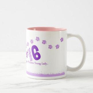 Dulce 16 taza de café
