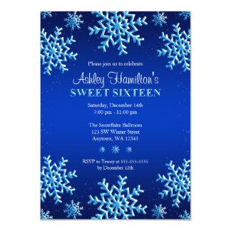Dulce azul 16 del país de las maravillas del invitación 11,4 x 15,8 cm