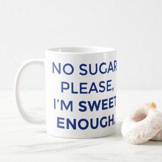 Dulce bastante taza de café