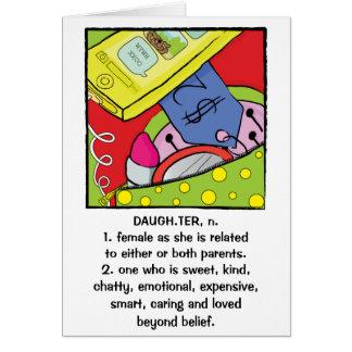 Dulce chistoso de la tarjeta de felicitación del