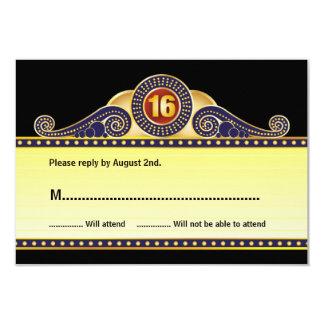 Dulce de la carpa del teatro tarjeta de invitación 8,9 x 12,7 cm