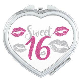 dulce-dieciséis espejos compactos