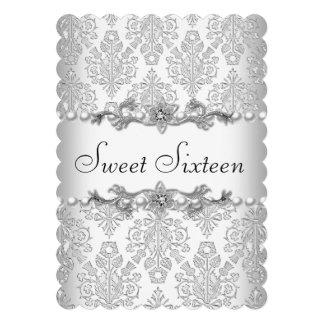 Dulce dieciséis perla blanca 3 de 16 cumpleaños anuncio